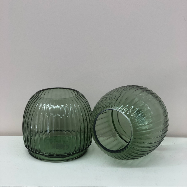 Forest-Green-Glass-Vases