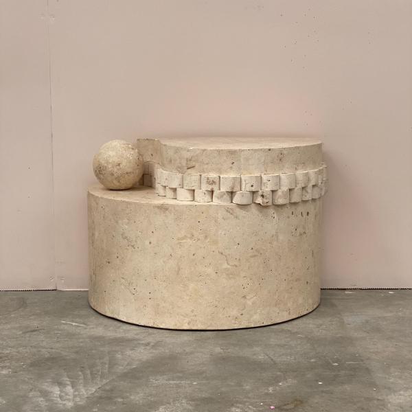 Semi-Circle-Stone-Plinth