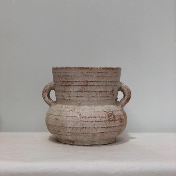 Terracotta-Whitewash-Pot